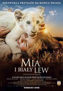 """Poster z filmu """"Mia i biały lew"""""""