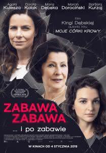 "Poster z filmu ""Zabawa, zabawa"""
