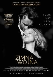 "Poster z filmu ""Zimna wojna"""