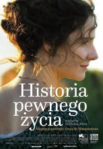 "Poster z filmu ""Historia pewnego życia"""