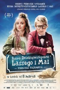 """Poster z filmu """"Biuro Detektywistyczne Lassego i Mai. Pierwsza tajemnica"""""""