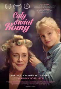 """Plakat filmu """"Cały świat Romy"""""""