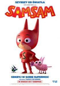 """Plakat filmu """"SamSam"""""""