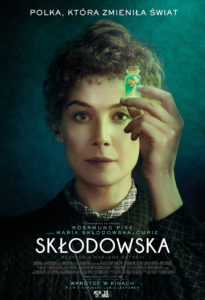 "Plakat filmu ""Skłodowska"""