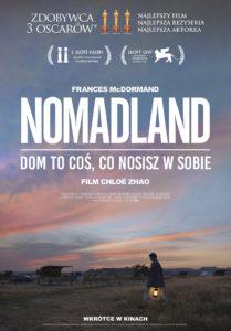 """Plakat filmu """"Nomadland"""""""