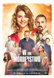 """Plakat filmu """"W jak morderstwo"""""""