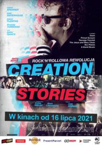 "Plakat filmu ""Creation Stories"""