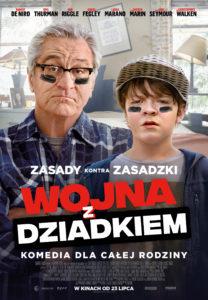 """Plakat filmu """"Wojna z dziadkiem"""""""