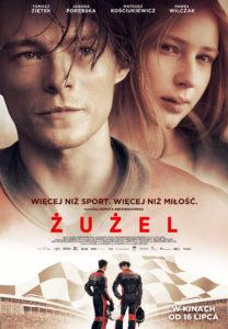 """Plakat filmu """"Żużel"""""""