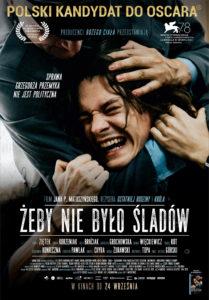 """Plakat filmu """"Żeby nie było śladów"""""""