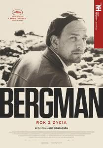 """Plakat filmu """"Bergman - Rok z życia"""""""
