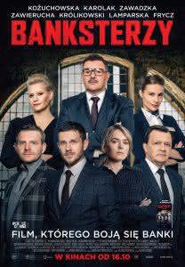 """Plakat filmu """"Banksterzy"""""""