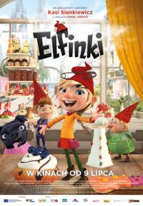 "Plakat filmu ""Elfinki"""