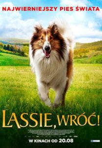 "Plakat filmu ""Lassie, wróć!"""