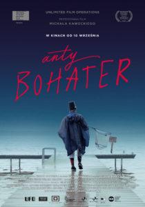 "Plakat filmu ""Antybohater"""
