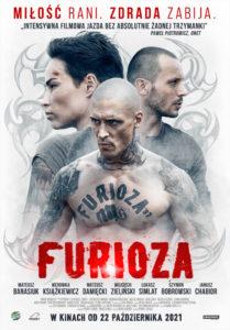 """Plakat filmu """"Furioza"""""""