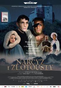 """Plakat filmu """"Narcyz i złotousty"""""""