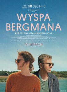 "Plakat filmu ""Wyspa Bergmana"""